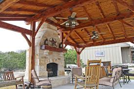outdoor living floor plans cedar kitchen timber frame outdoor living project photo gallery