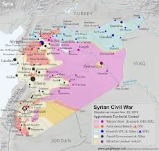 Map Of United States During Civil War by Syrian Civil War Control Map U0026 Report November 2016 Political