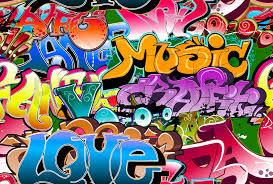 music love graffiti wall mural photo wallpaper photowall music love graffiti wall mural photo wallpaper photowall