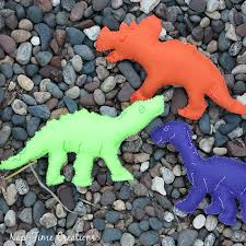 felt dinosaurs template and fun life sew savory