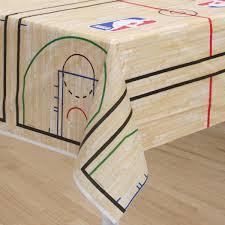 Table Basketball Nba Spalding Basketball Table Cover