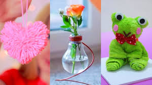 diy room decor 15 easy crafts ideas at home youtube