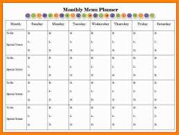 monthly planner template art resumes