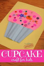 toddler approved cupcake craft for kids laura numeroff virtual