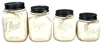 buy kitchen canisters white kitchen canister set jar ceramic canisters of 4 and jars