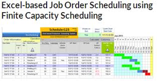 Schedule Excel Templates Production Schedule Template In Excel For Master Scheduler