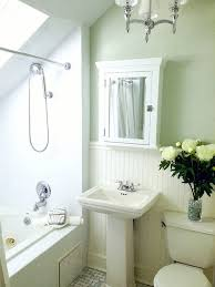 green and white bathroom ideas small green and white master bathroom with carrara marble floor