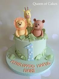 baby boy 1st birthday ideas pastel jungle baby boy 1st birthday cake kids 1st