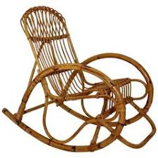 Bamboo Rocking Chair Vintage Bamboo Rocking Chair 1960s At 1stdibs