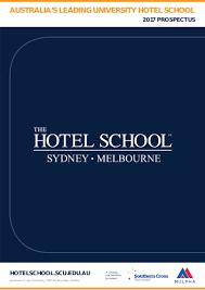 the hotel brochure