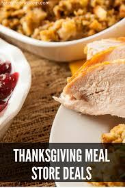 the best thanksgiving meal deals