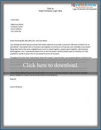 examples of a character reference letter lovetoknow