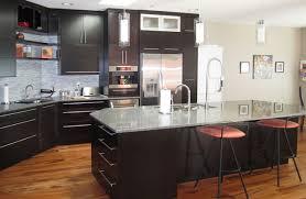 espresso kitchen island espresso kitchen with large island modern kitchen vancouver