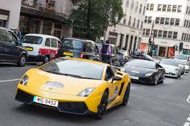 dodgeball rally supercars descend on london for start of europe