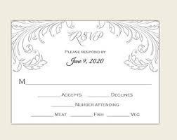 wedding response card template lilbibby com