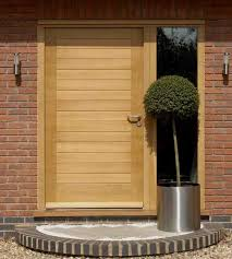 Solid Oak Exterior Doors External Framed Ledge And Brace Oak Front Doors Front Doors