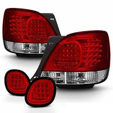 jdm lexus gs400 98 05 lexus gs300 gs400 led tail lights truck piece red clear