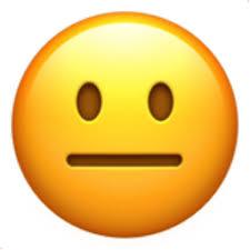 Copy And Paste Meme Faces - neutral face emoji u 1f610