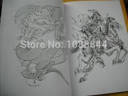 wholesale jinxuan a3 tattoo flash china book sketch art koi