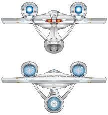 star trek new uss enterprise starships schematics