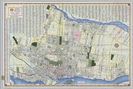 World Map 1950 Shell Street Map Of Montreal David Rumsey Historical Map Collection
