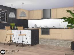 how to make a corner kitchen cabinet sims 4 wondymoon s rubidium kitchen