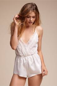 Lingerie For Your Wedding Night 10 Bridal Lingerie Buys 1 Pretty Lace Romper Bridal