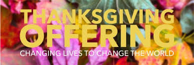 thanksgiving offerings door creek church
