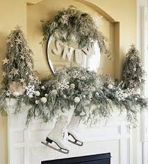 Images Of Mantels Decorated For Christmas A Whole Bunch Of Christmas Mantel Decorating Ideas U2014 Style Estate