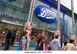 boots sale uk chemist boots the chemist shop on a retail park uk stock photo royalty
