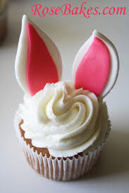 Decorate Easter Bunny Cupcakes by Easter Archives Rose Bakes