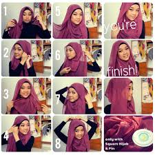 tutorial hijab pashmina untuk anak sekolah tutorial hijab segi empat tanpa ciput tutorial hijab hijab