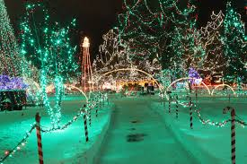 rotary lights la crosse the rotary lights in la crosse is the best winter lights walk in