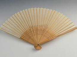 bamboo fan japanese traditional folding fan sensu bamboo silk made in japan