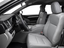 toyota highlander 2016 interior 2016 toyota highlander dealer serving los angeles toyota of glendale