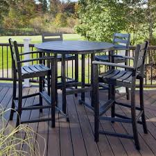 Outdoor Furniture Plastic Chairs by Plastic Patio Furniture Durable Resin The Home Depot