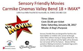 sensory friendly movies cinemas valley bend 18 imax