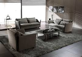 Set Sofa Modern Sofa Decorative Modern Fabric Sofa Set Grey Sectional 44l0739 24