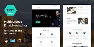 30 beautiful email newsletter templatesemail newsletter template