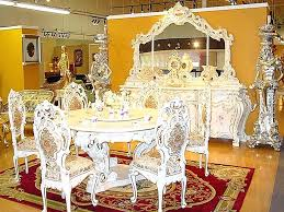 gold dining table set gold dining room designs modern dining room with glass dining table