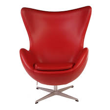 arne jacobsen egg chair replica in leather commercial furniture