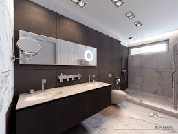 marble flooring in bathroom undermount sinks shower with glass