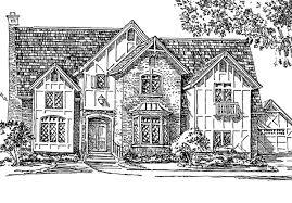 English Tudor Floor Plans Simple Tudor House Plans House And Home Design