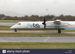 flybe bombardier dash 8 q400 medium range twin engine passenger