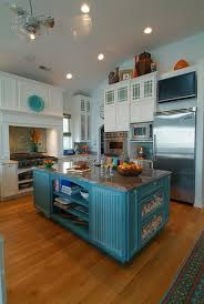 turquoise kitchen island unique kitchen island brown and turquoise kitchen decor turquoise