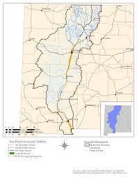 Map Of Rio Grande River New Mexico Department Of Game And Fish