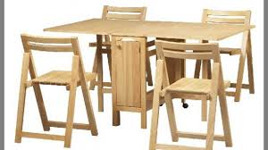 Folding Dining Table And Chairs Set Wonderful Folding Dining Table And Chairs Set Costa Home For Wood