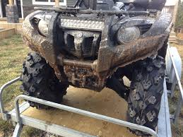 10 Watt Led Light Bar by Do You Have A Led Lightbar Yamaha Grizzly Atv Forum
