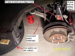 2003 honda civic brake pads diy 2007 honda odyssey front brake honda odyssey owners forum