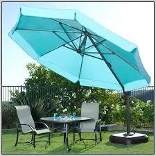 Patio Umbrella 11 Ft Luxury 11 Offset Patio Umbrella And 59 Hton Bay 11 Ft Offset